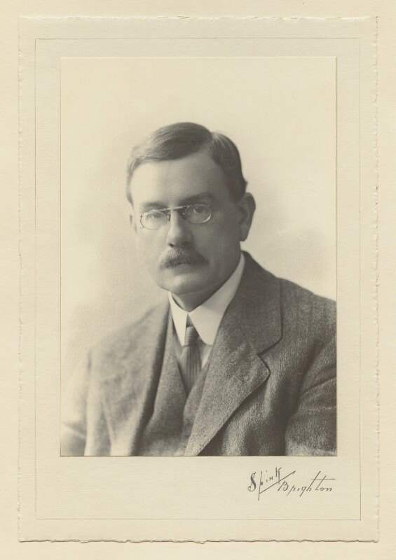 Ralph Strachey, by Henry Charles Spink, 1910 - NPG x129611 - © National Portrait Gallery, London