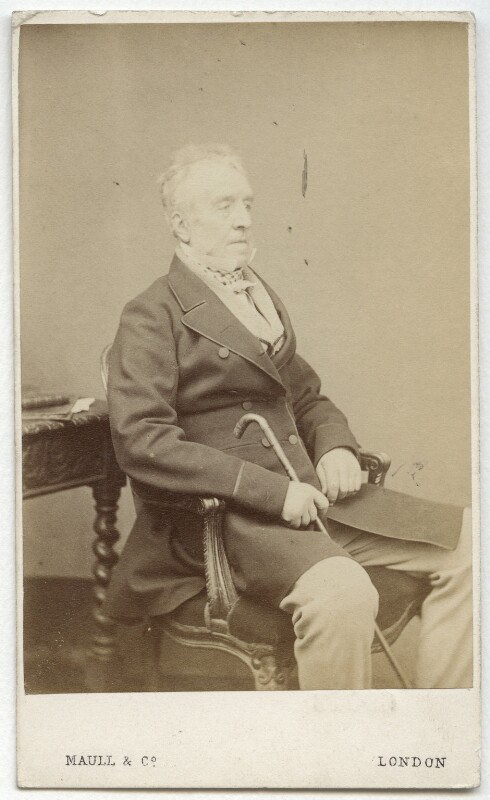 George Grote, by Maull & Co, 1865-1869 - NPG x15481 - © National Portrait Gallery, London