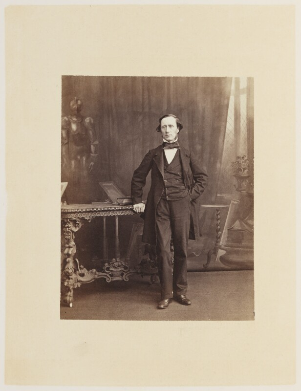 Sir William Sterndale Bennett, by Ernest Edwards, published by  Lovell Reeve & Co, published 1863 - NPG Ax13831 - © National Portrait Gallery, London