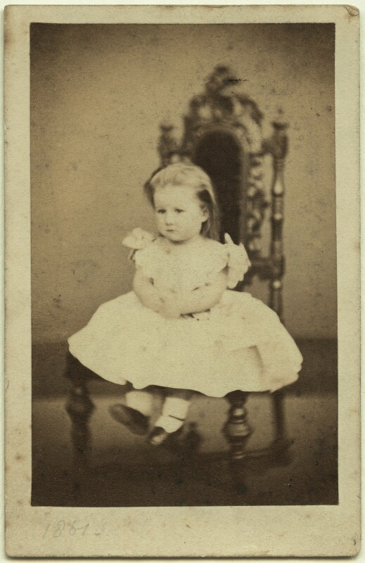 Elinor Rendel (née Strachey), by William Edward Kilburn, May 1861 - NPG x13864 - © National Portrait Gallery, London