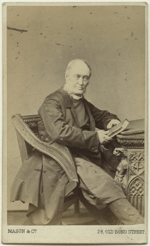 (Newell) Connop Thirlwall, by Mason & Co (Robert Hindry Mason), 1860s - NPG Ax38623 - © National Portrait Gallery, London