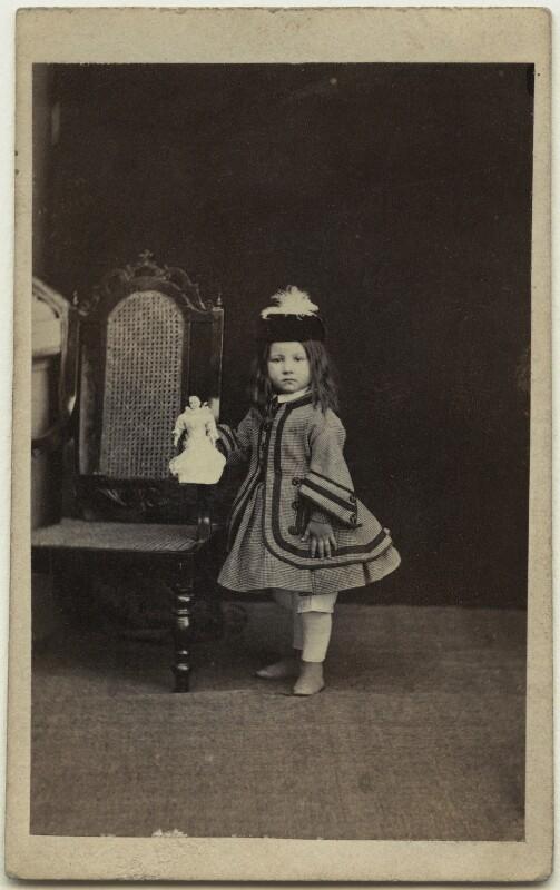 Elinor Rendel (née Strachey), by William Howard, November 1863 - NPG x13868 - © National Portrait Gallery, London
