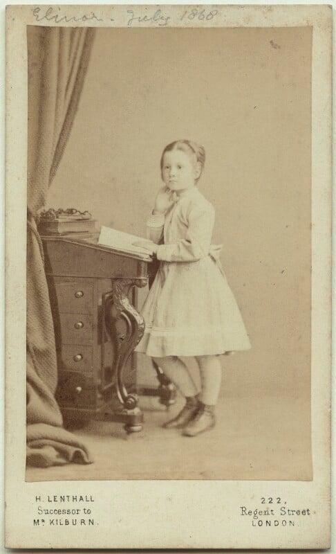 Elinor Rendel (née Strachey), by Henry Lenthall, July 1868 - NPG x13876 - © National Portrait Gallery, London