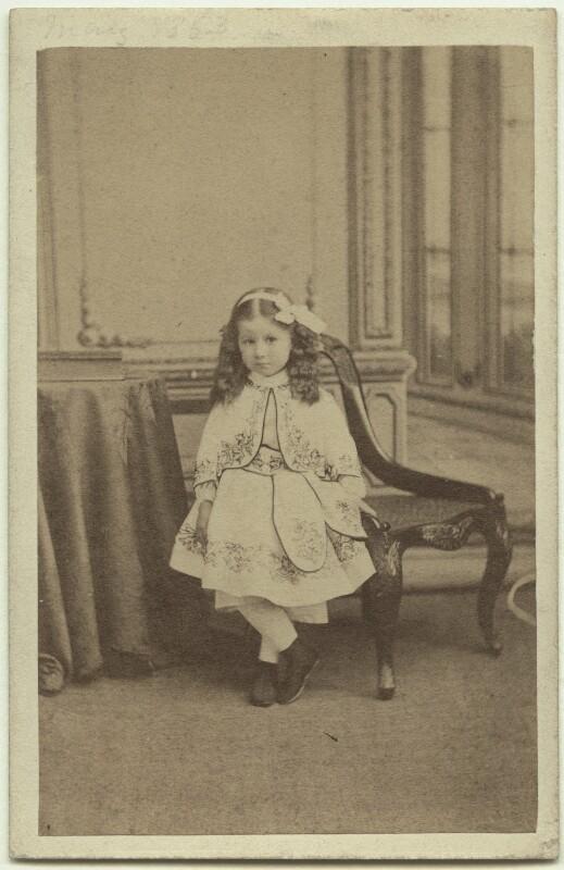 Elinor Rendel (née Strachey), by Howard, Bourne & Shepherd, May 1864 - NPG x13867 - © National Portrait Gallery, London