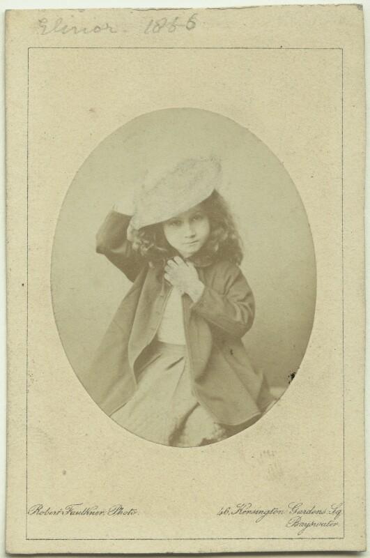 Elinor Rendel (née Strachey), by Robert Faulkner, 1866 - NPG x13873 - © National Portrait Gallery, London