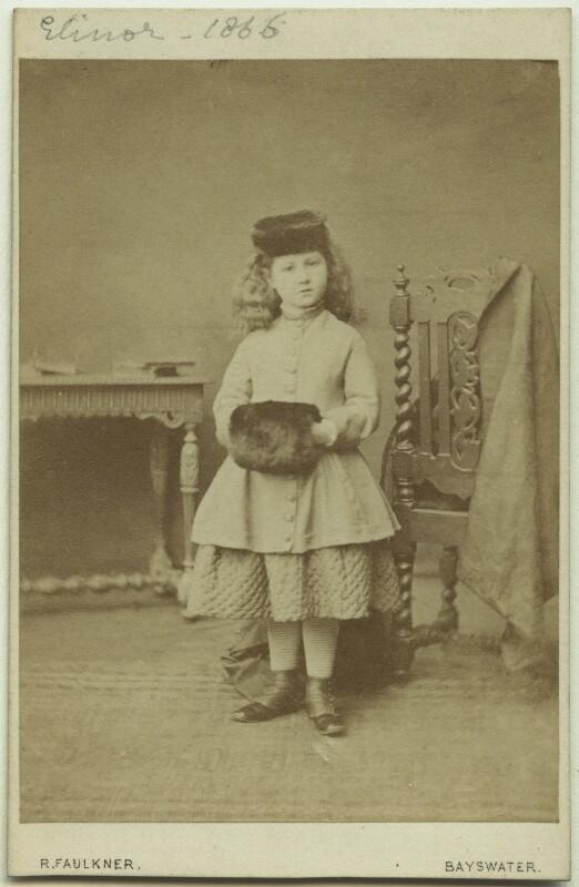 Elinor Rendel (née Strachey), by Robert Faulkner, 1866 - NPG x13875 - © National Portrait Gallery, London