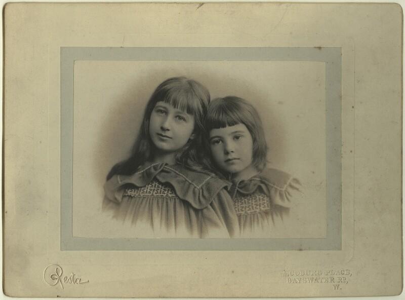 Elizabeth Rendel; Ellie Rendel, by Enrico Resta, early 1890 - NPG x129613 - © National Portrait Gallery, London