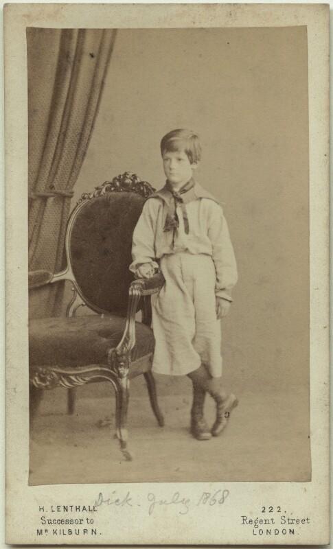Richard John Strachey, by Henry Lenthall, July 1868 - NPG x38554 - © National Portrait Gallery, London