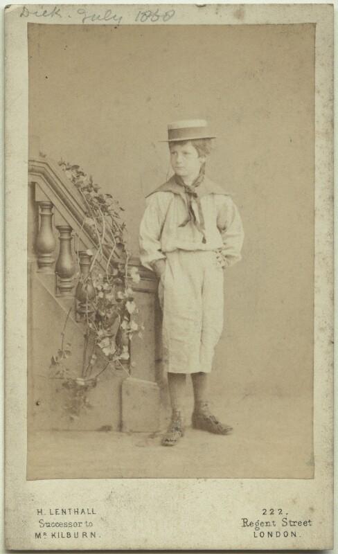 Richard John Strachey, by Henry Lenthall, July 1868 - NPG x38553 - © National Portrait Gallery, London