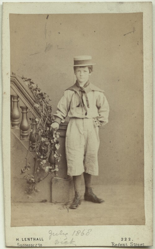 Richard John Strachey, by Henry Lenthall, July 1868 - NPG x38552 - © National Portrait Gallery, London