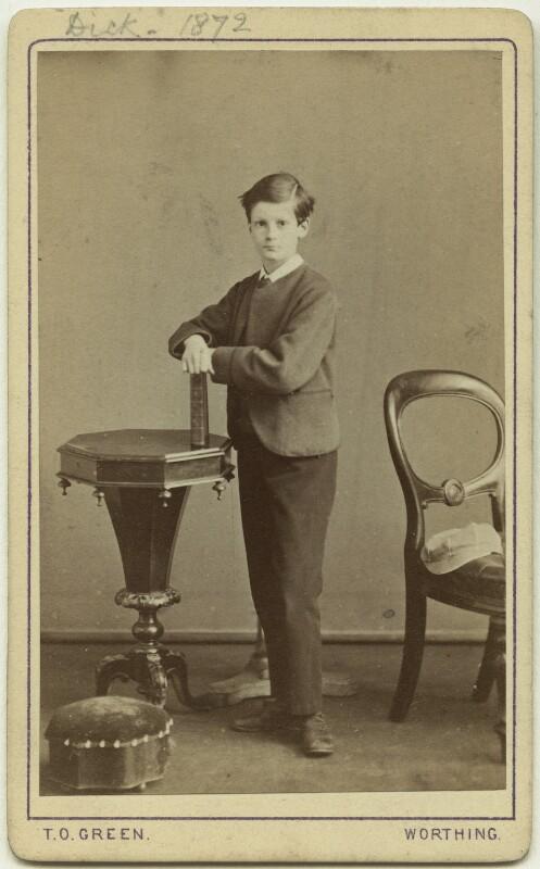 Richard John Strachey, by Thomas Oliver Green, 1872 - NPG x38555 - © National Portrait Gallery, London