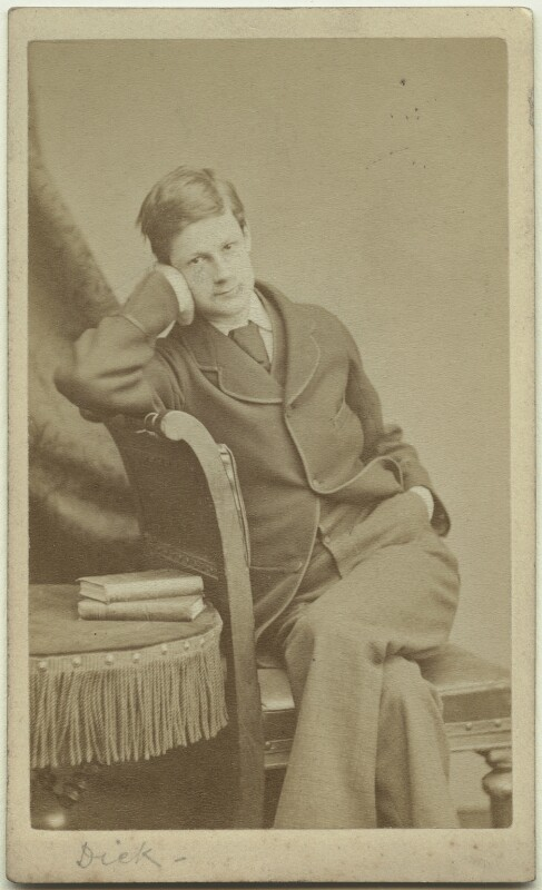 Richard John Strachey, by Alexander Bassano, circa 1878 - NPG x38556 - © National Portrait Gallery, London