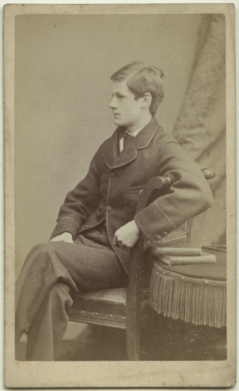 Richard John Strachey, by Alexander Bassano, circa 1878 - NPG x38557 - © National Portrait Gallery, London