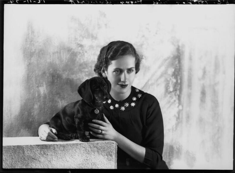 Dame Peggy Ashcroft, by Bassano Ltd, 12 November 1934 - NPG x22297 - © National Portrait Gallery, London