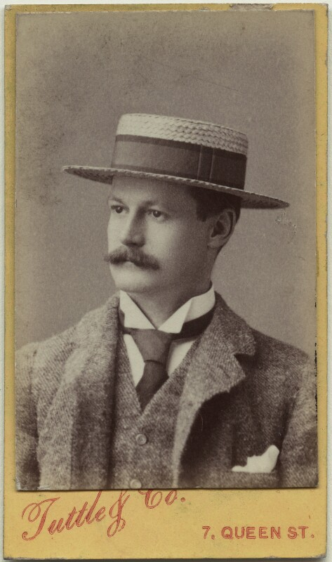 Richard John Strachey, by William Nutting Tuttle & Co, late 1880s - NPG x38560 - © National Portrait Gallery, London