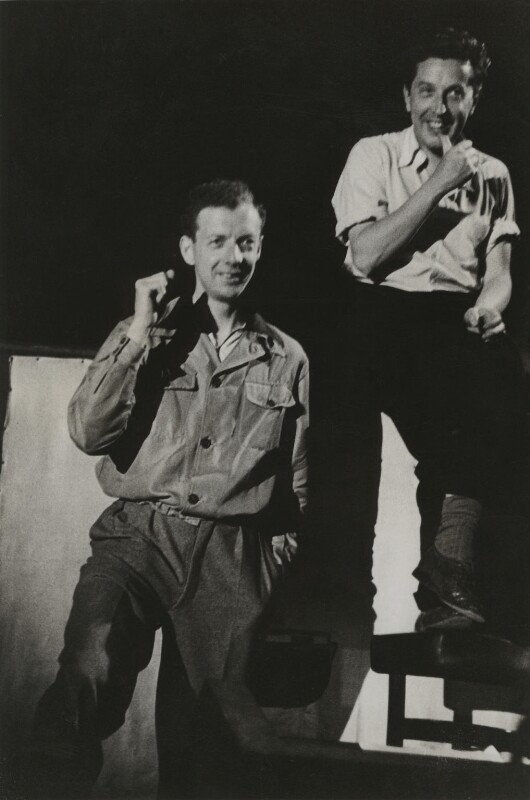 Benjamin Britten and Sir Frederick Ashton, by Unknown photographer, 1947 - NPG x15217 - © National Portrait Gallery, London