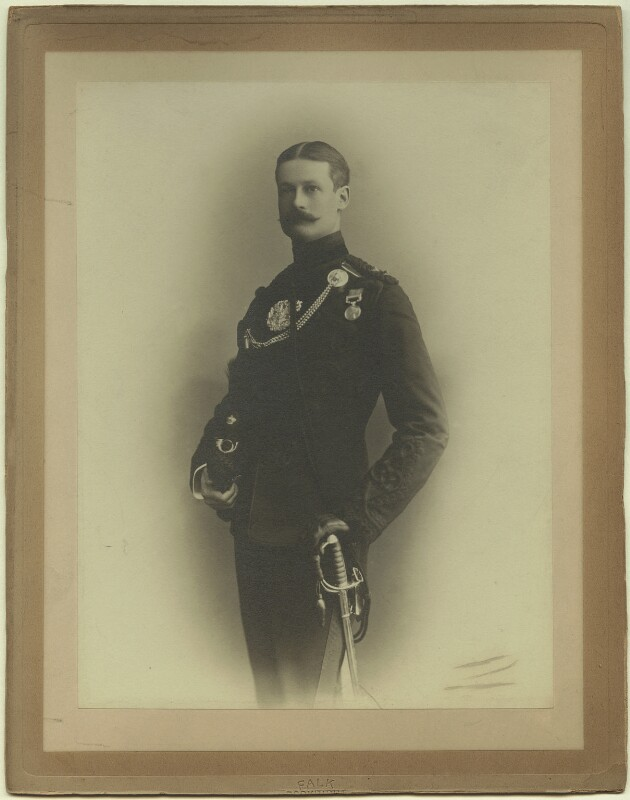 Richard John Strachey, by Benjamin Joseph Falk, late 1880s - NPG x129615 - © National Portrait Gallery, London