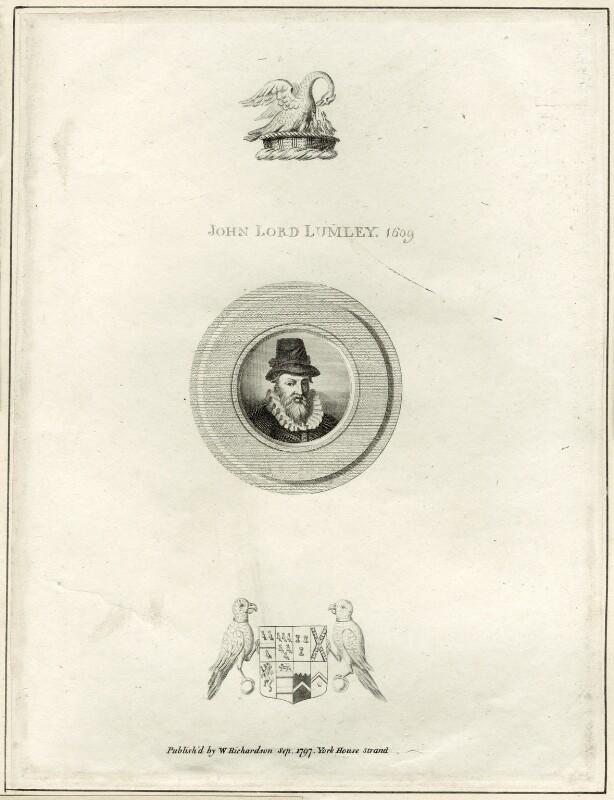 John Lumley, 1st Baron Lumley, published by William Richardson, published 1797 - NPG D25837 - © National Portrait Gallery, London