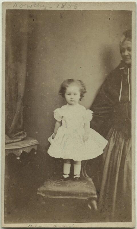 Dorothy Bussy (née Strachey), by James Ross, 1866 - NPG x13089 - © National Portrait Gallery, London
