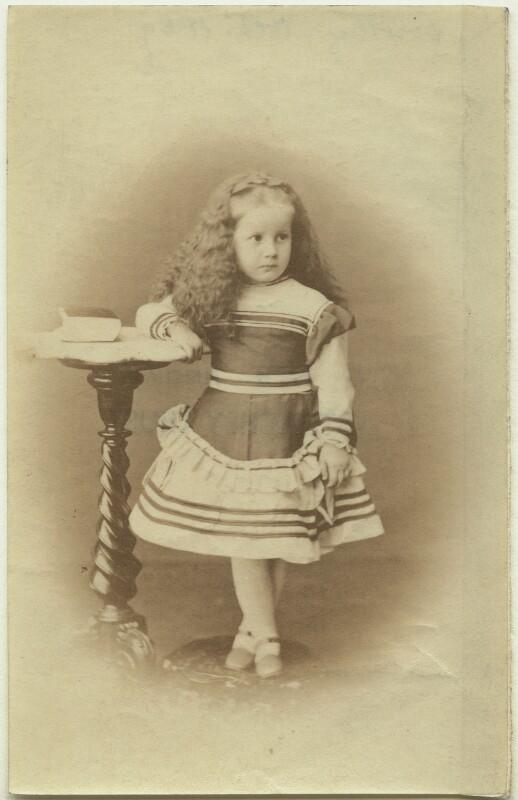 Dorothy Bussy (née Strachey), by Bourne & Shepherd, October 1869 - NPG x13890 - © National Portrait Gallery, London