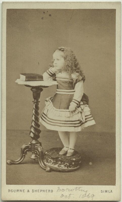 Dorothy Bussy (née Strachey), by Bourne & Shepherd, October 1869 - NPG x13889 - © National Portrait Gallery, London