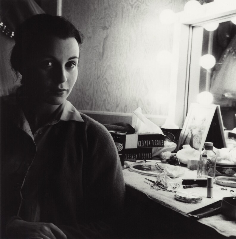 Claire Bloom on the set of 'Limelight', by Bob Willoughby, 1952 - NPG x24932 - © Bob Willoughby 1952