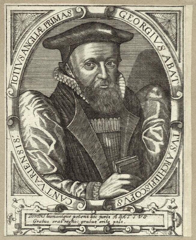 George Abbot, after Simon de Passe, published 1650 (1616) - NPG D25861 - © National Portrait Gallery, London