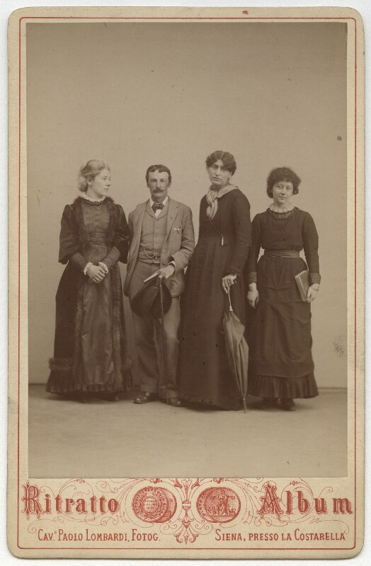 'The pilgrims of Siena', by Paolo Lombardi, 1881 - NPG x6953 - © National Portrait Gallery, London