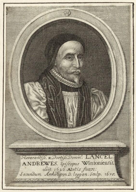 Lancelot Andrewes, by David Loggan, 1675 - NPG D25886 - © National Portrait Gallery, London