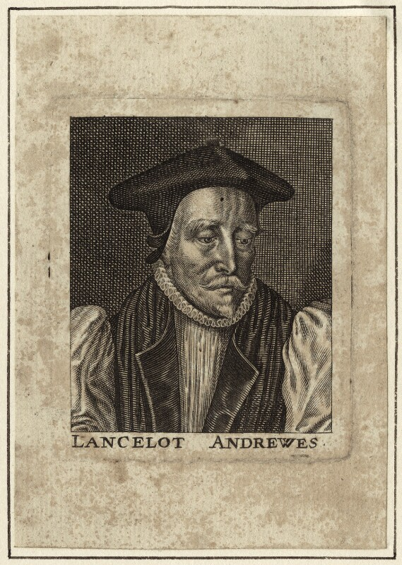 Lancelot Andrewes, after Unknown artist, possibly late 17th to early 18th century - NPG D25887 - © National Portrait Gallery, London