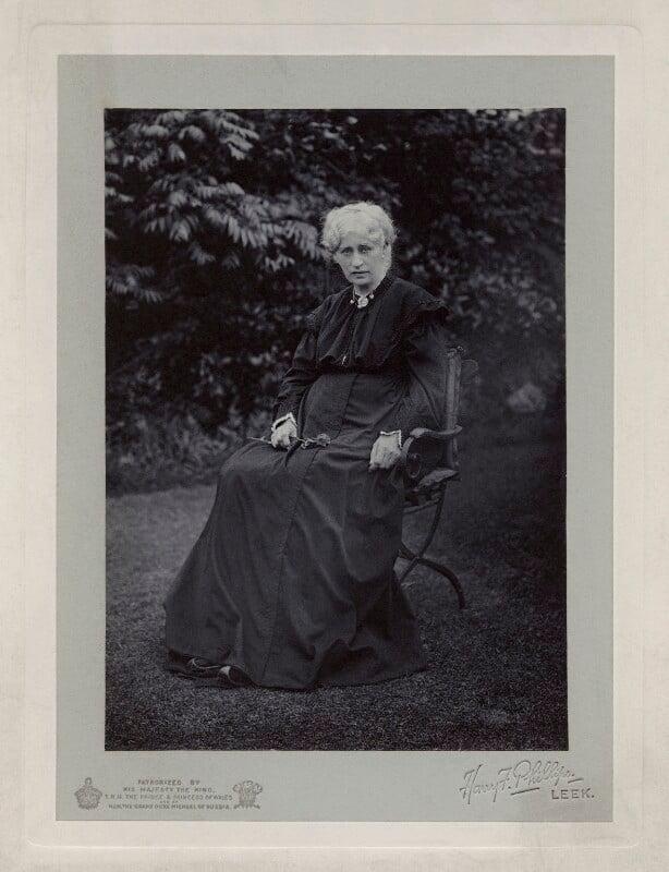 Jane Morris (née Burden), by Harry F. Phillips, circa 1900 - NPG x17991 - © National Portrait Gallery, London