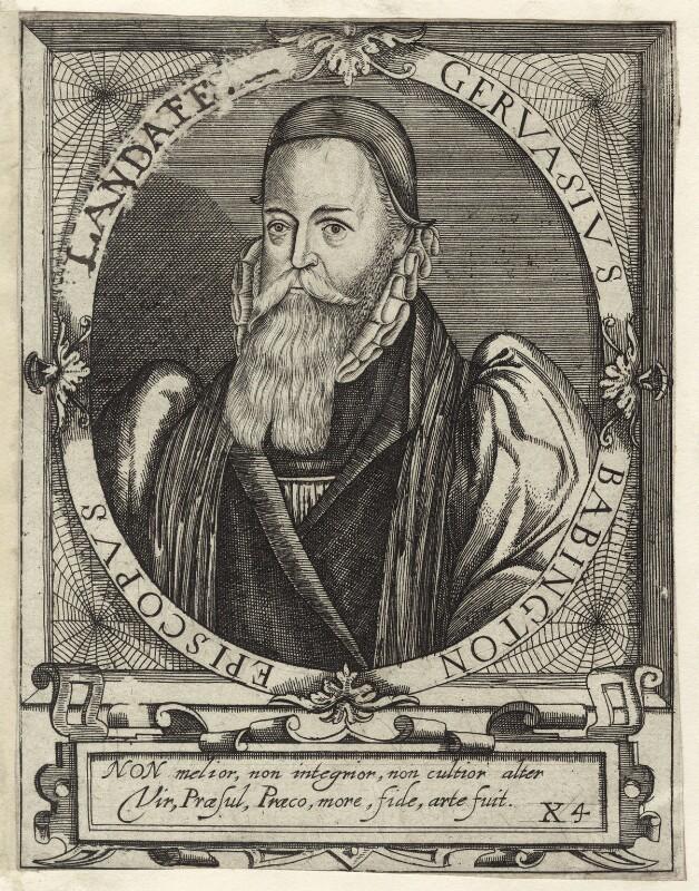 Gervase Babington, after Unknown artist, 1650 - NPG D25901 - © National Portrait Gallery, London