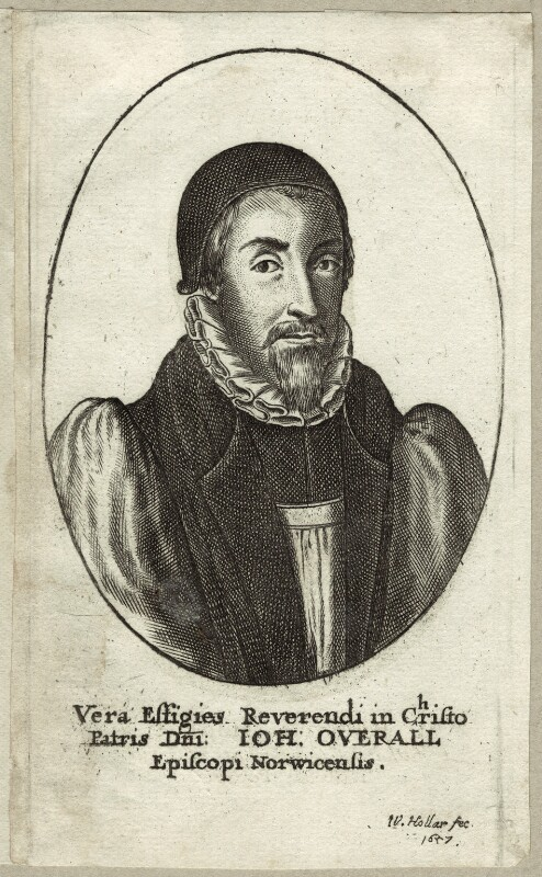 John Overall, by Wenceslaus Hollar, 1657 - NPG D25914 - © National Portrait Gallery, London