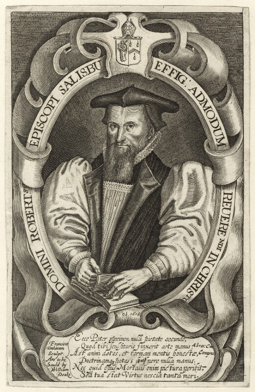 Robert Abbot, by Francis Delaram, published by  William Peake, circa 1617-1618; published circa 1626-1639 - NPG D25919 - © National Portrait Gallery, London