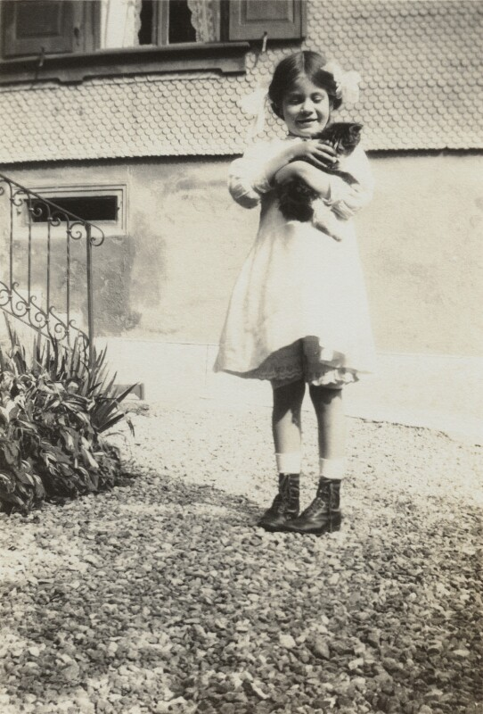 Janie Bussy, by Unknown photographer, circa 1912 - NPG x38591 - © National Portrait Gallery, London