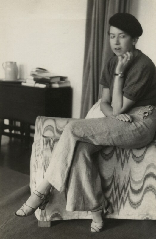 Janie Bussy, by Unknown photographer, late 1930s - NPG x38573 - © National Portrait Gallery, London