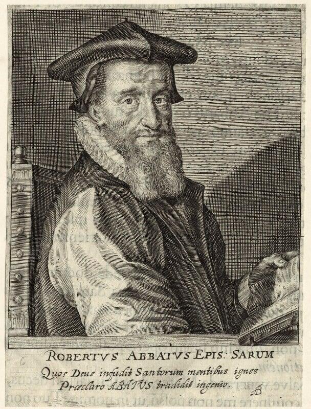 Robert Abbot, by Willem de Passe, 1622 - NPG D25922 - © National Portrait Gallery, London