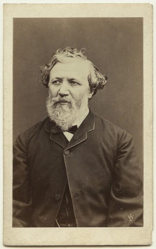 Robert Browning, by William Jeffrey, 1865 - NPG x74634 - © National Portrait Gallery, London