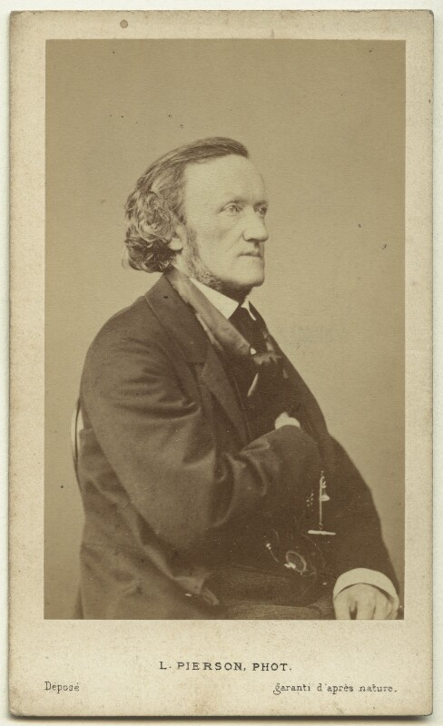 Richard Wagner, by Mayer & Pierson, mid 1860s - NPG x74638 - © National Portrait Gallery, London