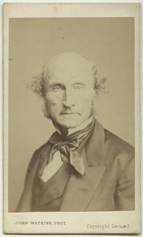 John Stuart Mill, by John Watkins, or by  John & Charles Watkins, 1865 - NPG x74636 - © National Portrait Gallery, London