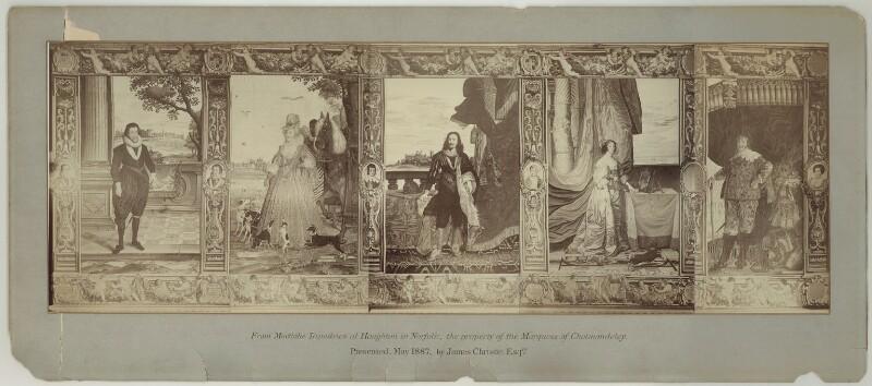 The Stuart Dynasty, after Francis Poyntz, circa 1887 (1670s) - NPG D32077 - © National Portrait Gallery, London