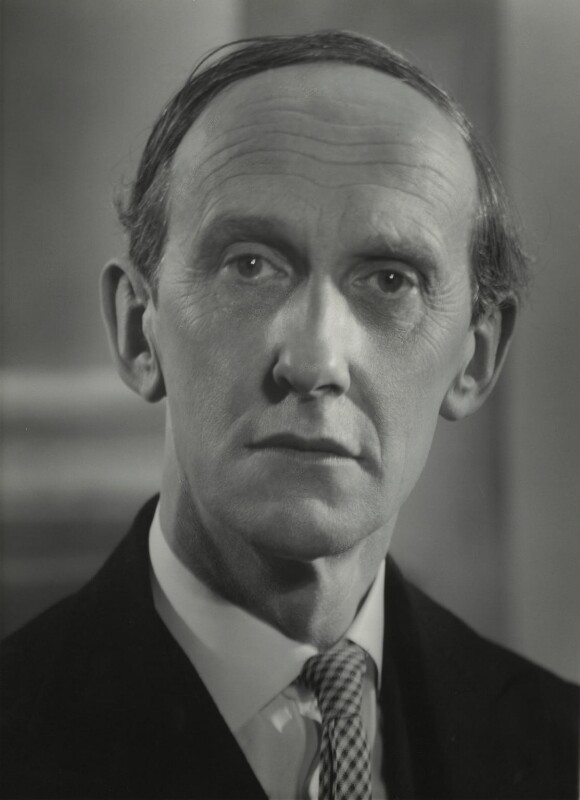 Lord David Cecil, by Howard Coster, 1954 - NPG x1784 - © National Portrait Gallery, London