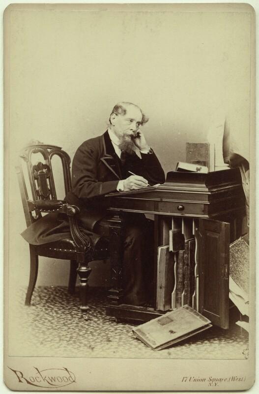 Charles Dickens, by George Gardner Rockwood, 1867 - NPG x131113 - © National Portrait Gallery, London