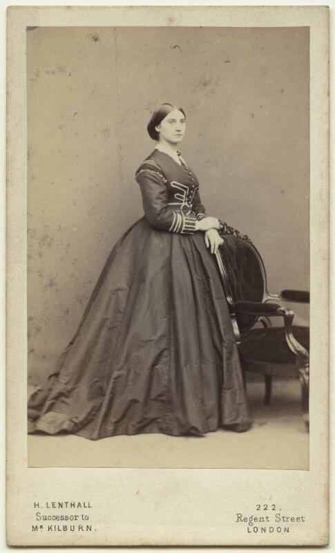 Marion Grant (née Rowe), by William Edward Kilburn, 1850s - NPG x26182 - © National Portrait Gallery, London