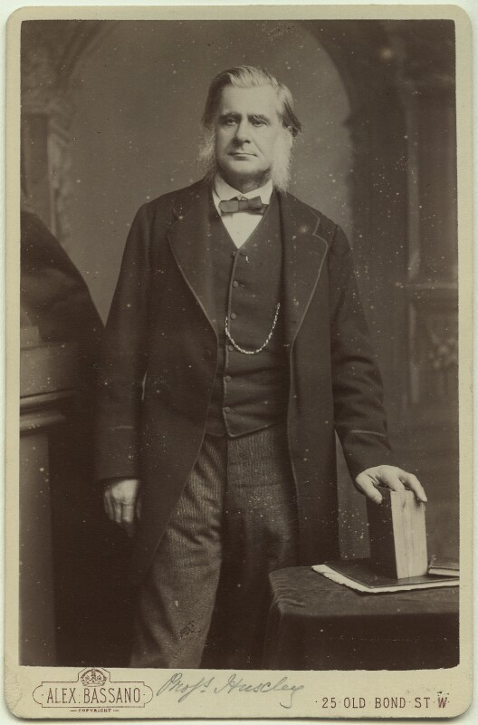 Thomas Henry Huxley, by Alexander Bassano, circa 1883 - NPG x11992 - © National Portrait Gallery, London