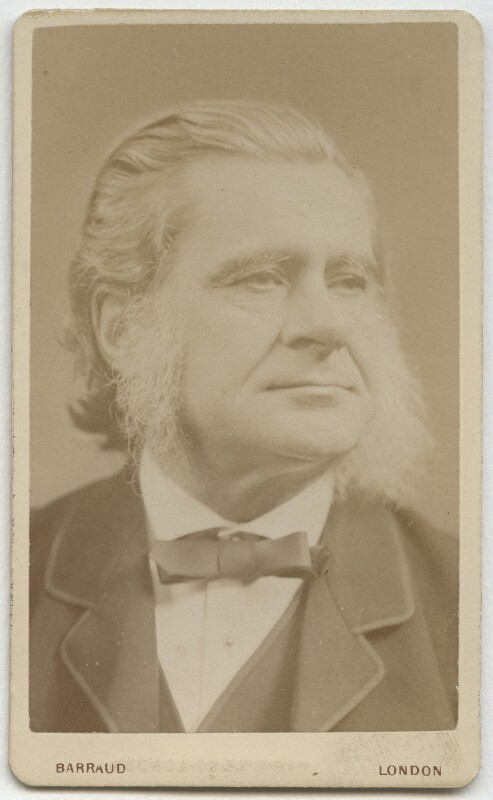 Thomas Henry Huxley, by Herbert Rose Barraud, December 1881 - NPG x11993 - © National Portrait Gallery, London
