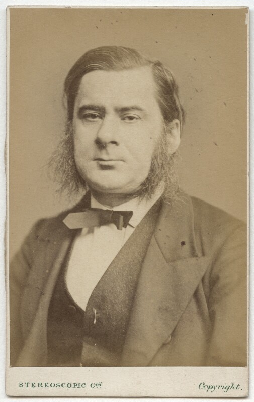 Thomas Henry Huxley, by London Stereoscopic & Photographic Company, circa 1870 - NPG x11996 - © National Portrait Gallery, London