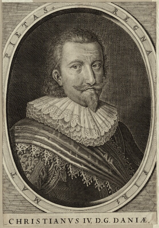 Christian IV, King of Denmark and Norway, possibly by François Mazot, mid 17th century - NPG D26177 - © National Portrait Gallery, London