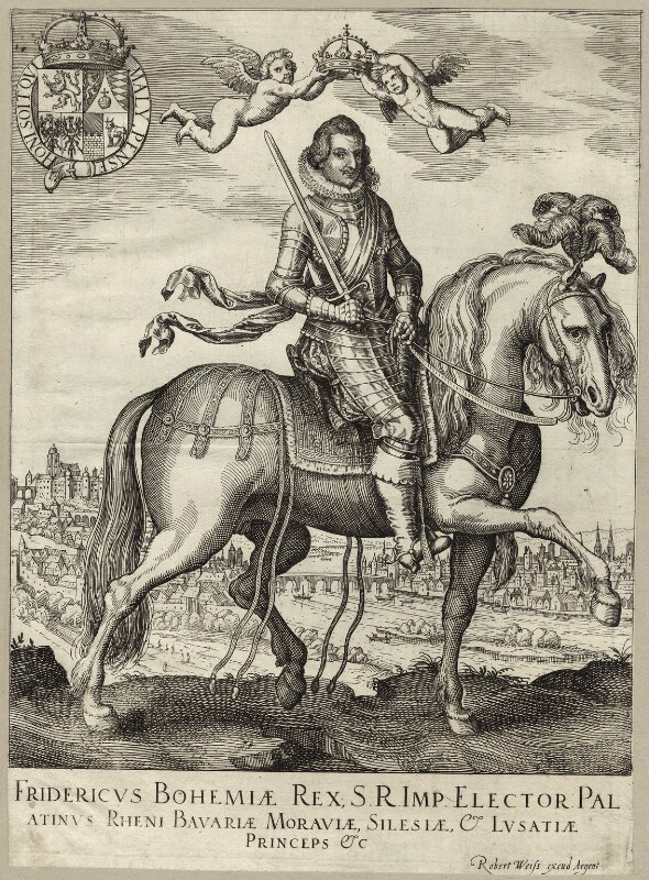 Frederick V, King of Bohemia and Elector Palatine, published by Robert Weiss, mid to late 17th century - NPG D26186 - © National Portrait Gallery, London