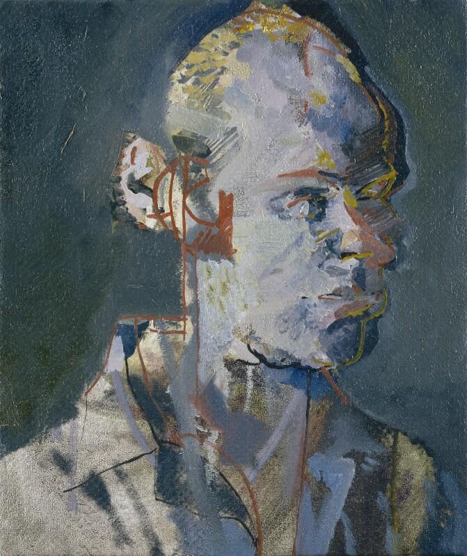 Brian Eno, by Tom Phillips, 1984-1985 - NPG 6823 - © DACS / Tom Phillips